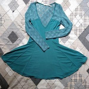 Kimchi Blue Lace Skater Dress